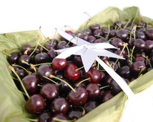 Christmas Hampers with Cherries
