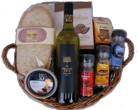 A Gourmet Gift Basket is a Great Christmas Gift Idea!