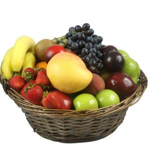 fresh fruit only fruit baskets delivered Newcastle